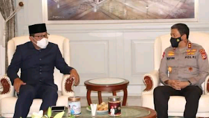 Jabat Kapolda Jabar Irjen Pol Drs H. Ahmad Dofiri bahas agenda diantaranya Pilkada 2020