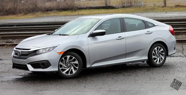 2016 Honda Civic 2.0 EX SENS