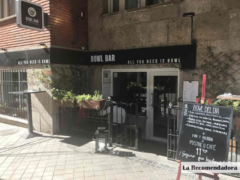 Bowl Bar Madrid