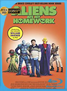 Aliens Ate My Homework (2018) HD [1080p] Latino [GoogleDrive] SilvestreHD