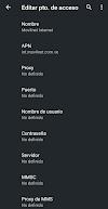 ▷ Configurar APN de Movilnet para poder navegar con datos en la red de Movilnet.