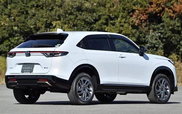 Novo Honda HR-V 2022: fotos e informações adicionais reveladas