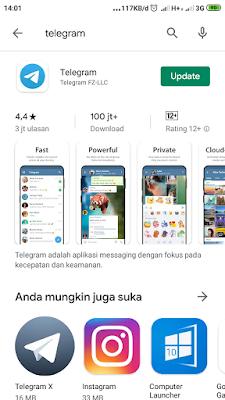 Kelebihan aplikasi telegram 2019