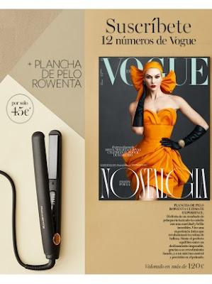 Suscripción Revista Vogue diciembre