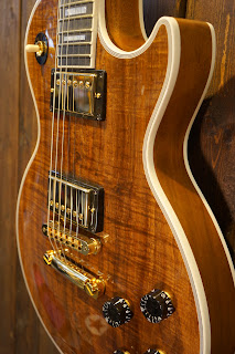 Gibson Les Paul Custom Koa Top Natural