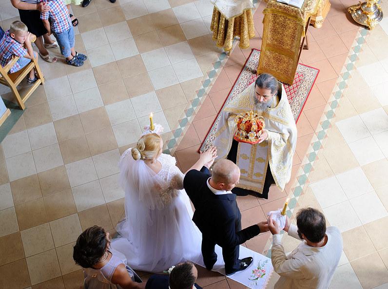 свадьба в церкви Иверской иконы Божией Матери в Паланге