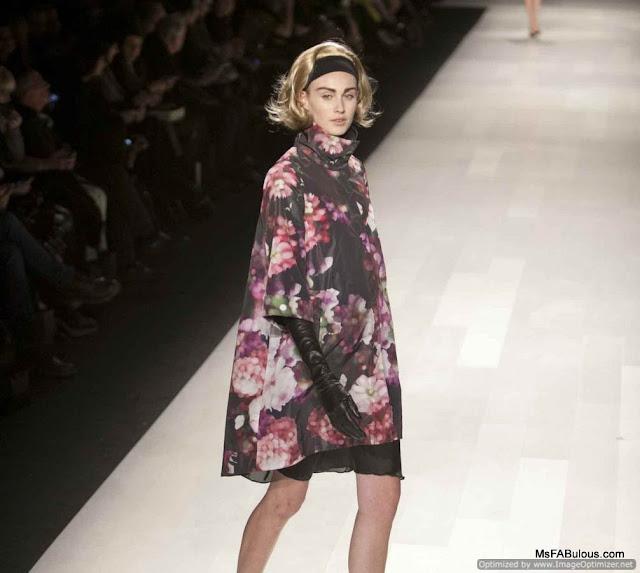 pink tartan fashion show