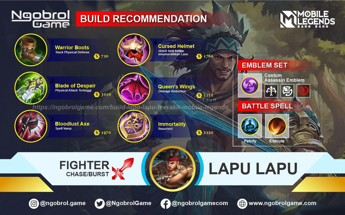 Build Lapu Lapu Savage Mobile Legends