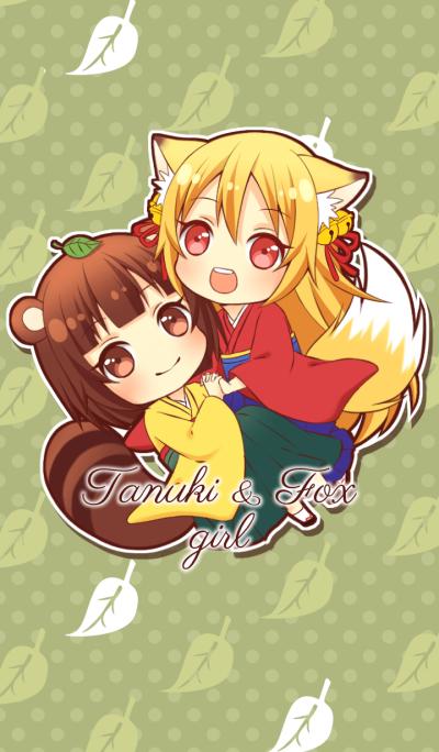 Tanuki & Fox girl themes