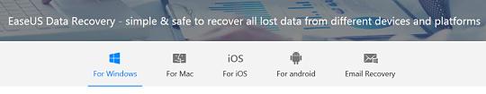 Easeus Data Recovery Wizard Tersedia Untuk Semua Platform