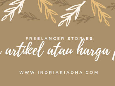 Freelancer Stories : Jasa Saya di Hargai 10 Ribu Rupiah
