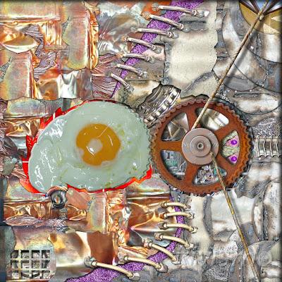 Transmutación orgánica - Organic transmutation. Obra del Rivismo en la Exposición Internacional de Arte REFLECTING SOURCE en Manhattan (Nueva York)