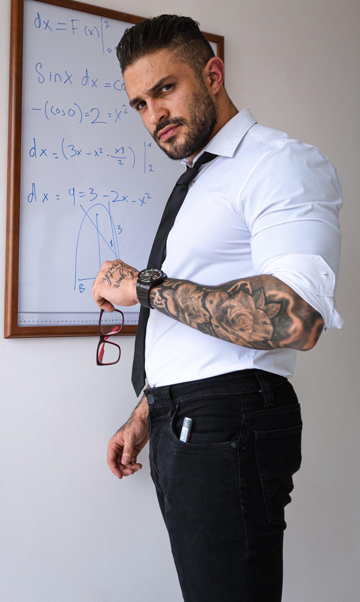 profesor guapo