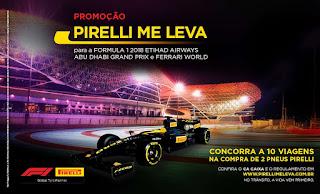 Promoção Pirelli Me Leva