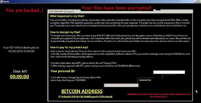 RekenSom (Ransomware)