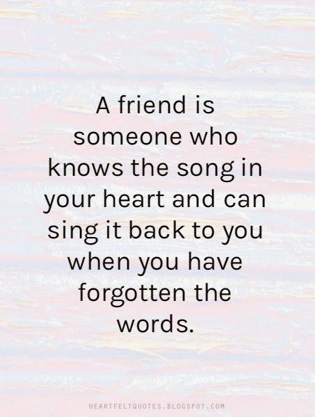 Heartfelt Friendship Sayings : Best inspiring friendship quotes heartfelt love and