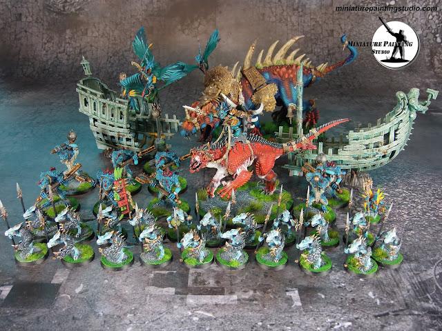 lizardmen army warhammer