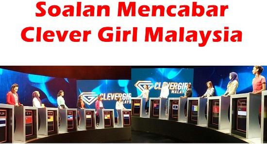 soalan mencabar minda clever girl malaysia 2016 tv3, soalan uji iq, jadi bijak pandai, pelajar dan belia terpintar malaysia, didik manja, rancangan tv terbaik untuk anak, gambar dan video clever girl malaysia