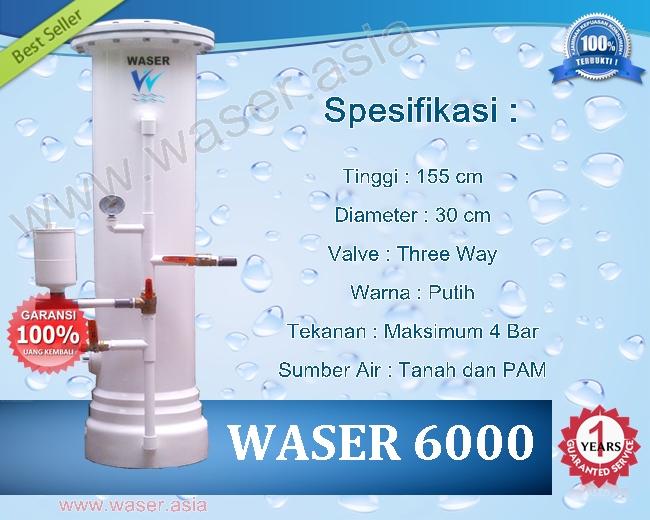 Filter Penjernih Air WASER 6000