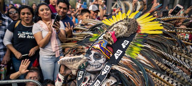 Desfile del Día de Muertos en la Ciudad de MéxicoBrenda Islas @brendaislas