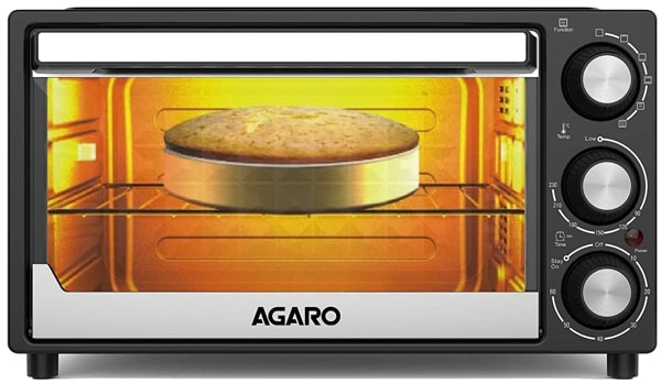 AGARO Grand OTG, 30 Litres, 1500 Watts - Best Affordable and Reliable OTG with many features for the family of 5-6 people.