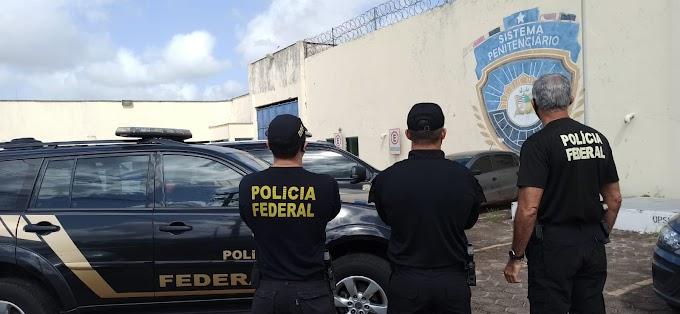 """Operação """"Panteão"""":  PF desarticula facção criminosa e descobre plano para matar diretor de presídio no Maranhão"""
