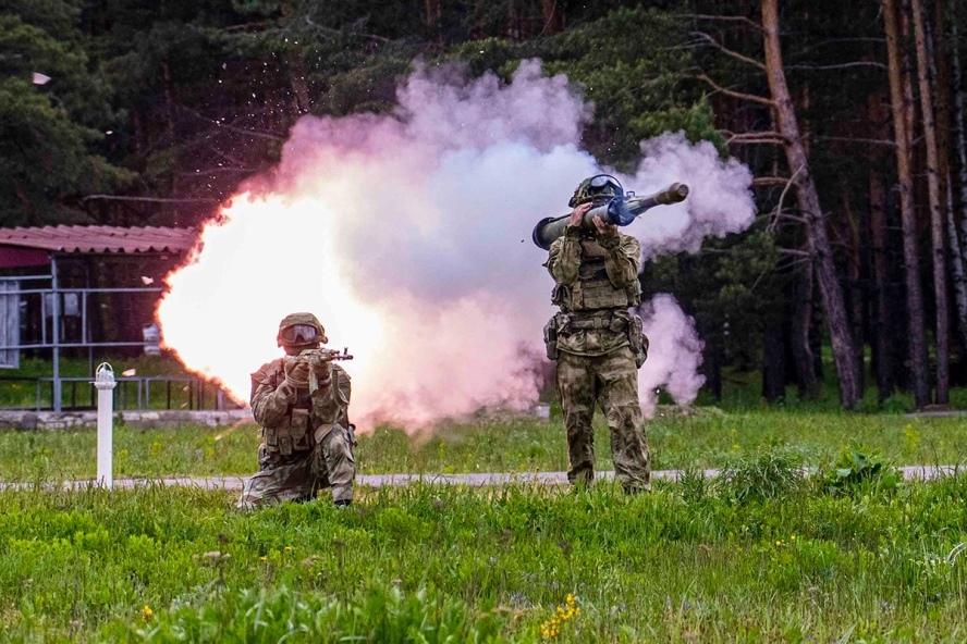 Стрільба з РШГ-1