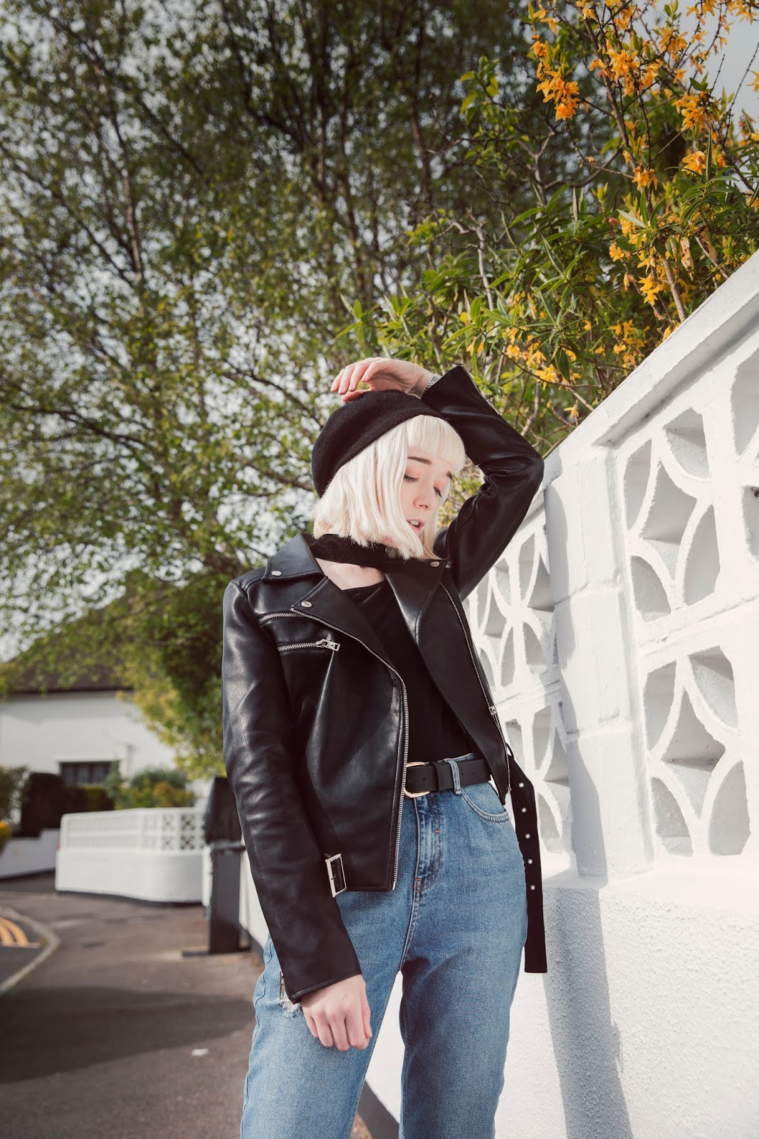 how-to-wear-painted-leather-trend