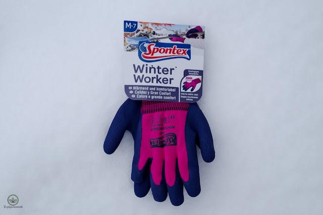 Spontex Winter Worker Gartendhandschuhe für die kalte Jahreszeit - Gartenblog Topfgartenwelt