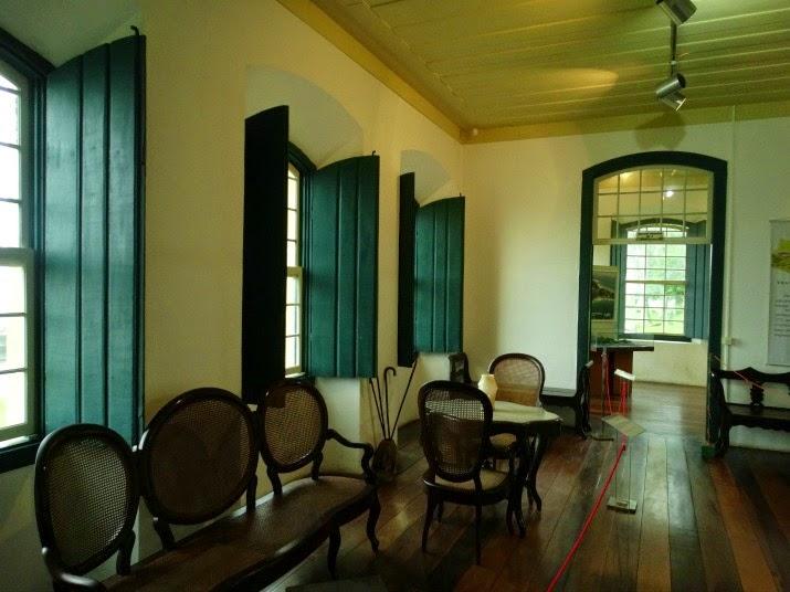 Interior do Museu Etnográfico de Biguaçu