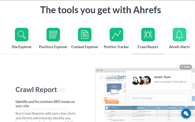 the importance of Ahrefs tools