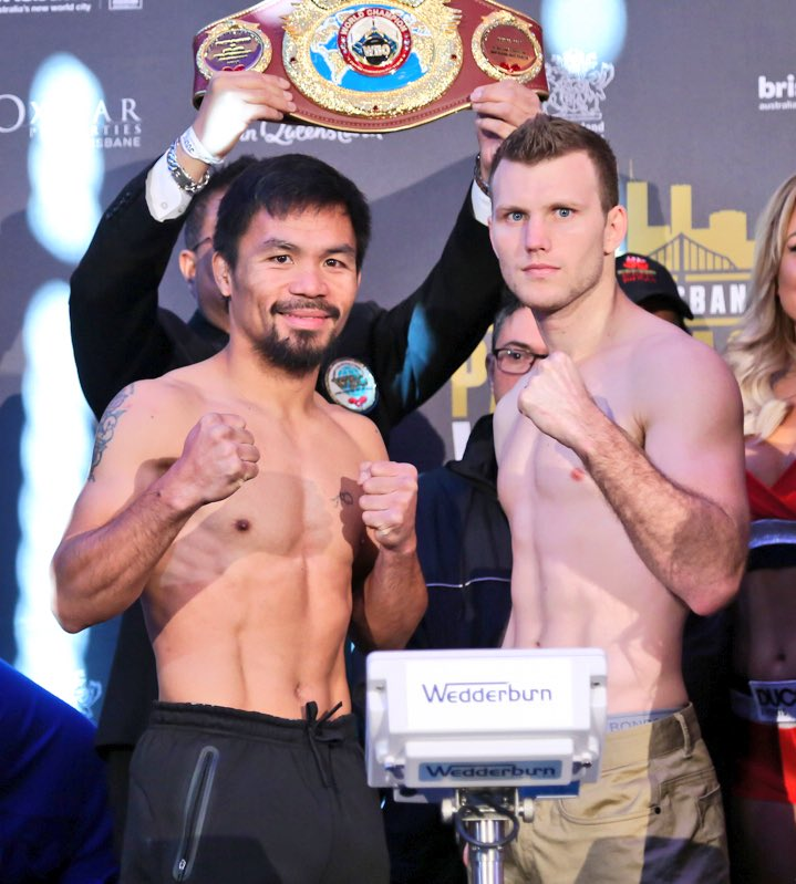 "Pacquiao vs Horn ""Battle of Brisbane"" fight video"