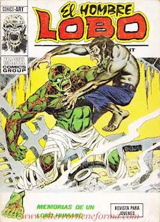 El Hombre Lobo 08 Ediciones Vertice