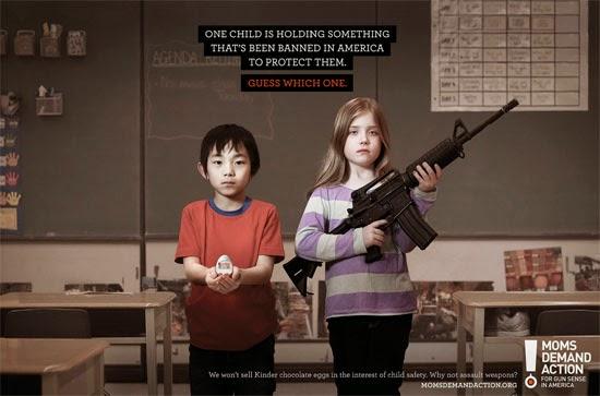 Campanha de desarmamento cita proibição do Kinder ovo nos EUA