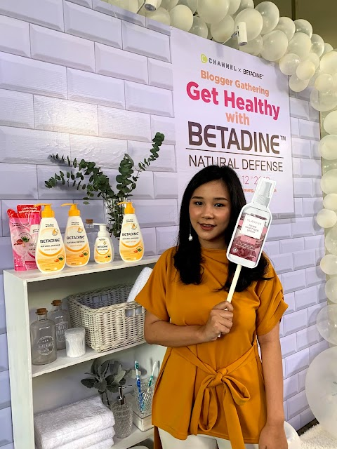 Peduli Personal Hygiene dengan Betadine
