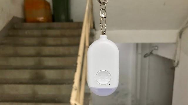 【開箱介紹】Aiyo0o 閃光電筒警報器 一按自救發訊號