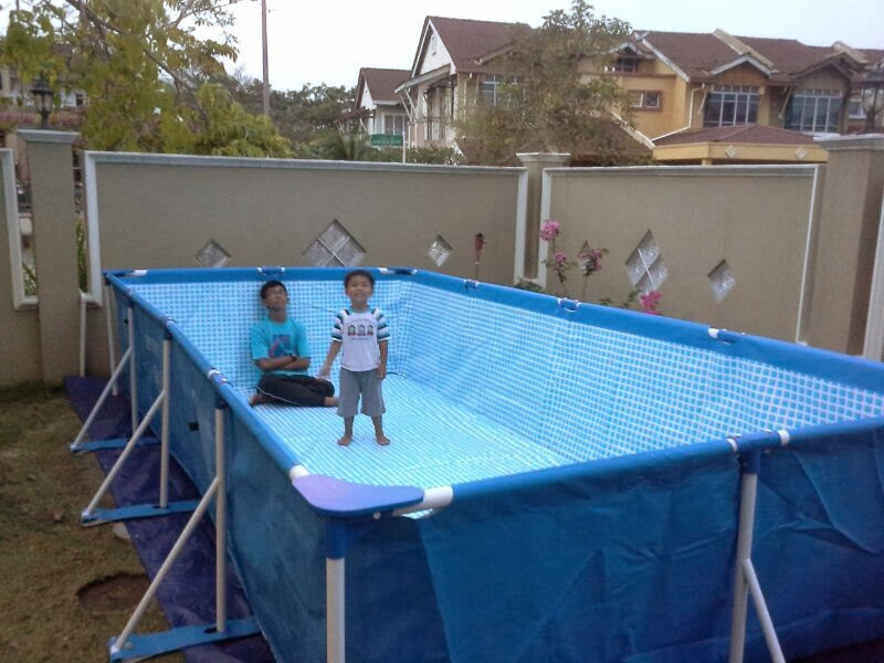 Pool Make Easier Intex Rectangular Pool