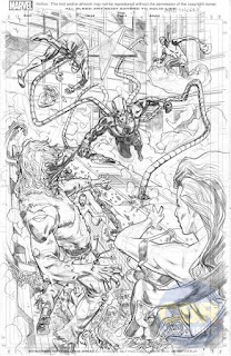 "Un primer vistazo a la serie ""The Superior Octopus"" de de Christos Gage y Mike Hawthorne - Marvel Comics"