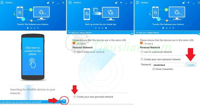 Cara Mengirim File Dari Android Ke PC Dengan SHAREit dan Dari PC ke Android