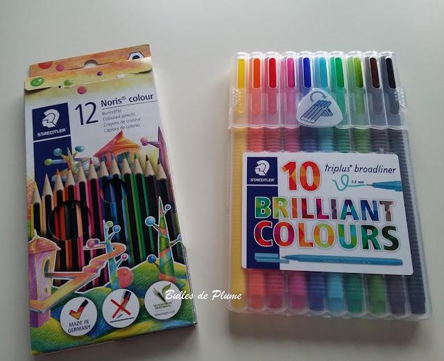Bulles de Plume Mix & Match : 3 gammes, 48 couleurs (Staedtler)