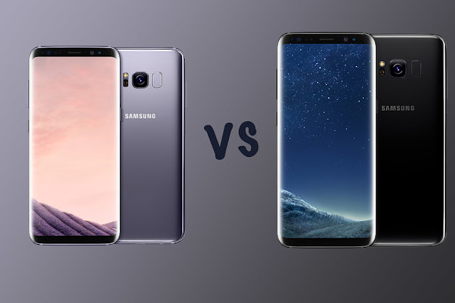 Samsung Galaxy S8 and Samsung Galaxy S8+ image