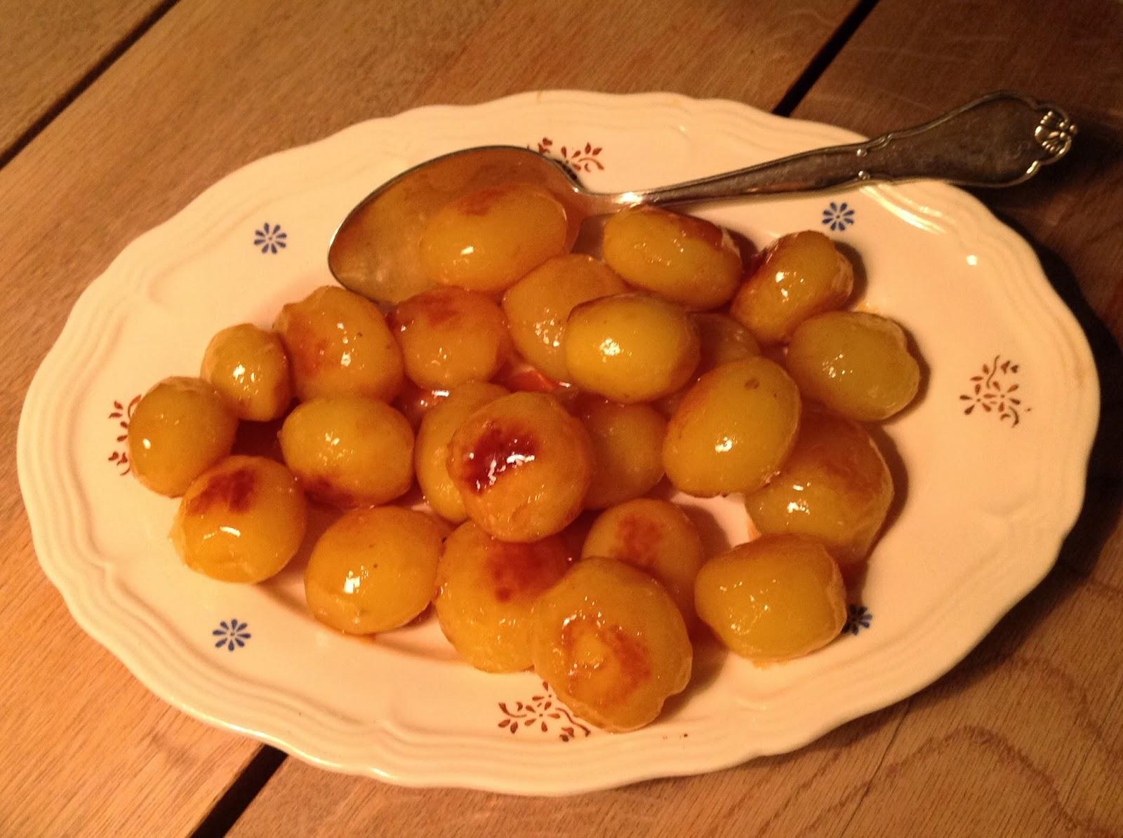 Evas Køkken Perfekte Sukkerbrunede Kartofler