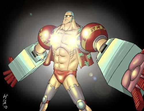 Karakter Anime Yang Bersenjatakan Senjata Anti Mainstream Franky
