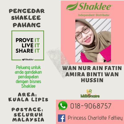 Pengedar Shaklee Kuala Lipis 0189068757