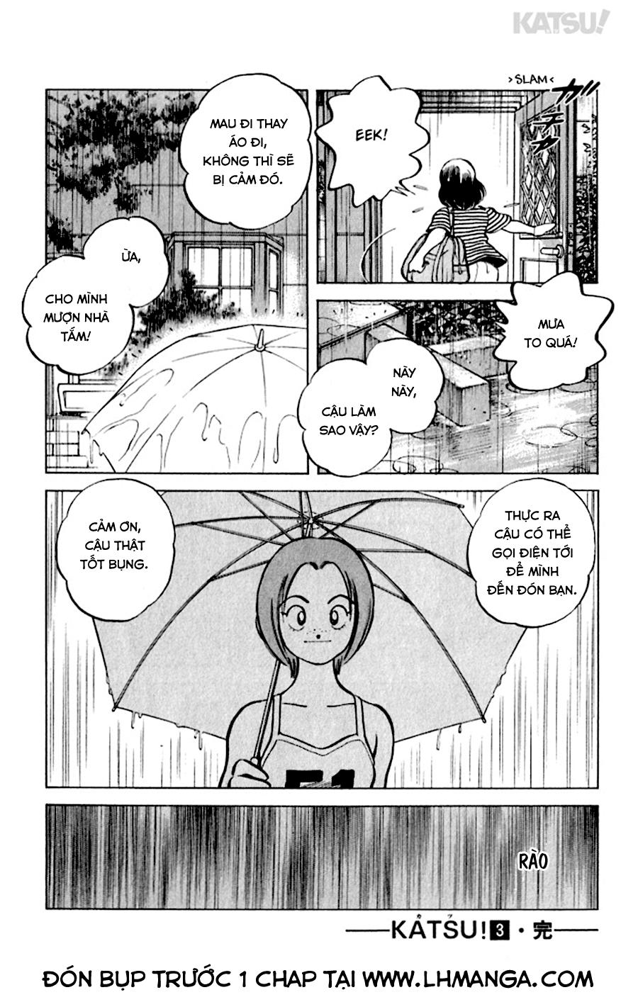 Katsu! chương 028: giai đoạn này trang 20