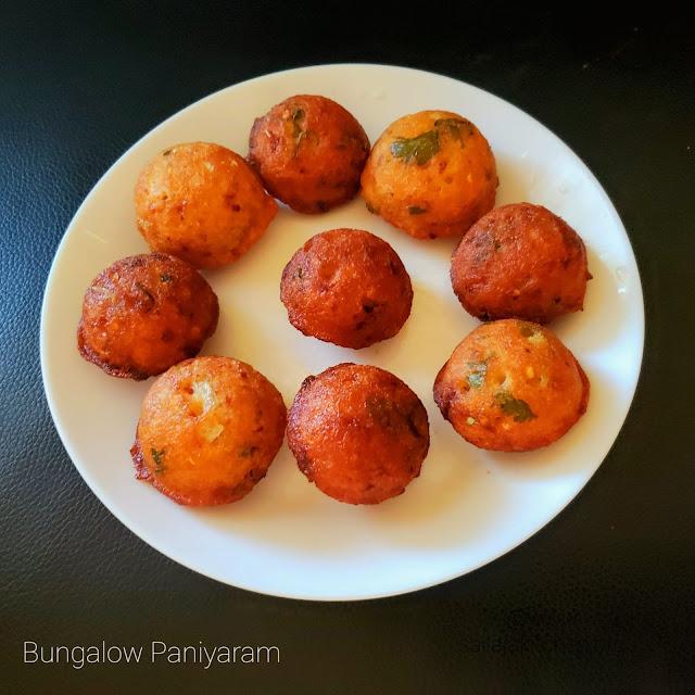 images ofBungalow Paniyaram Recipe / Kara Paniyaram Recipe