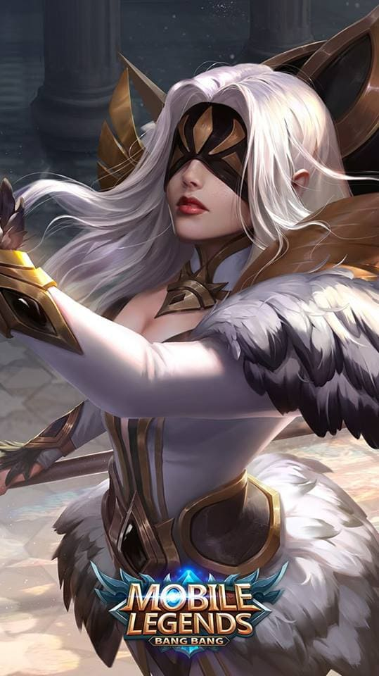 Wallpaper Pharsa Wings of Heaven Skin Mobile Legends HD for Android and iOS