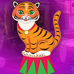 Games4King - G4K Comely Circus Tiger Escape Game