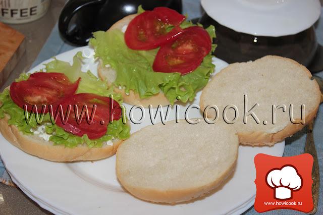 Как приготовить классический гамбургер рецепт пошаговые фото