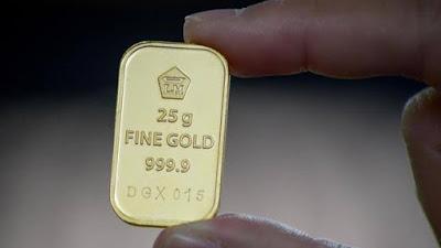 Hari Ini Harga Emas Antam Anjlok ke Rp961 Ribu